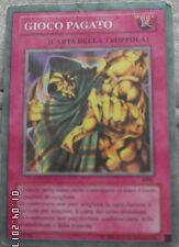 Carta Yu-Gi-Oh ! Gioco Pagato carta trappola