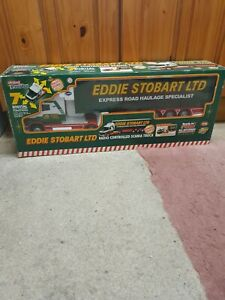 Huge 1:18 Scale RC EDDIE STOBART SCANIA TRUCK & TRAILER with realistic sounds