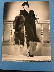 "Frances Dee  Sexy VINTAGE Orginial 1940's 7x9 1/4"" Photo 1st Generation Lot 14"