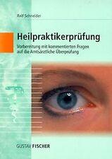 Heilpraktikerprüfung, Bd.1 von Schneider, Rolf | Buch | Zustand gut