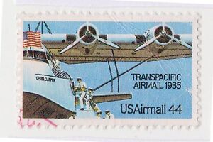 (UST-446) 1985 USA 44c transpacific air mail (A)(space filler)