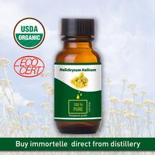 Immortelle (Helichrysum italicum) -100% naturreines, ätherisches Öl von der Farm