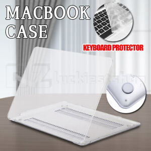 "Apple Macbook Pro Air Crystal Clear Hard Case + Keyboard Cover 11"" 12'' 13"" 16"""