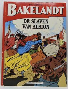 Dutch Comic Hec Leemans Bakelandt De Slaven Van Albion #74