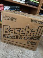 1 case 1989 Donruss Baseball Wax 20 Boxes Factory Sealed Griffey Rookie PSA 10?