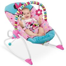 Newborn Baby Rocking Seat Infant Toddler Rocker Play Toys Chair Minnie Portable