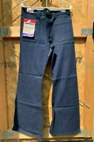 1970s Bell Bottom Jeans - Men's Size 34/32 Dark Indigo Cone Denim - Navdungeree