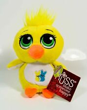 Russ Scented Marsha Mallow Yummy Peepers Plush - 5in Yellow