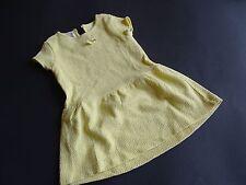 ZARA Baby Girl Zitrusgelbes Sommerkleid Gr.12/18m 86