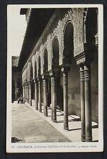3081.-GRANADA -Columnas del Patio de los Leones (Foto)
