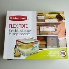 Rubbermaid Medium Flex Tote Flexible Closet Storage Bag 15-Gallon DISCONTINUED