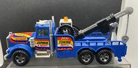 Vintage 1980's Majorette Kenworth 24HR Express Heavy Tow Truck France Wrecker