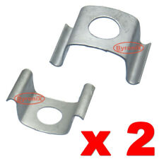 BMW MINI BRAKE CLUTCH HOSE LINE RETAINING CLIP METAL CLAMP 34341163565 HOLDER X2