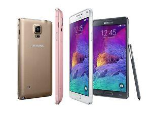 AT&T / Unlocked Samsung Galaxy Note 4 32GB Android Smartphone - LCD SHADOW BURN