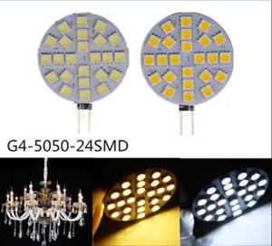 10 Pack LED Light DC12V 3W G4 Base,Replace Landscape/Chandelier/Crystal /Boat