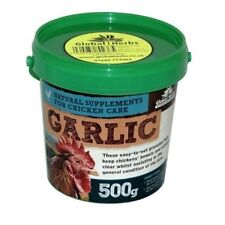 Global Herbs Poultry Garlic Granules x 500 Gm - Size