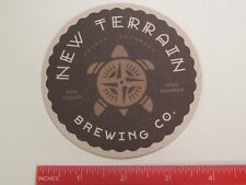 Beer Coaster ~ NEW TERRAIN Brewing ~ Golden, COLORADO ~ Not All Who Wander ...