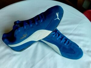 PUMA Speed Cat SD Blue Vintage Collector Extremly Rare EUR 43 UK 9 US 10