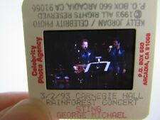 More details for original press photo slide negative - sting & george michael - 1993 - a