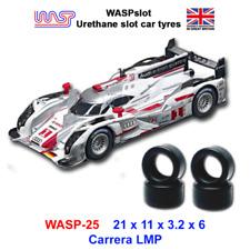Uréthane Fente Voiture Pneus X 4 WASP 25 Carrera Lmp Audi R18 1:3 2 Echelle