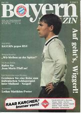 BL 84/85  FC Bayern München - Hamburger SV