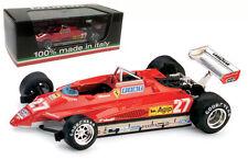 Brumm R267 FERRARI 126C2 TURBO San Marino GP 1982-G VILLENEUVE scala 1/43