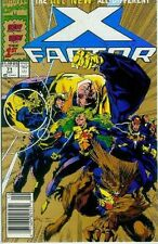 X-Factor # 71 (Larry Stroman, New Team starts, 2nd Printing, oro Ink) (USA, 1991)