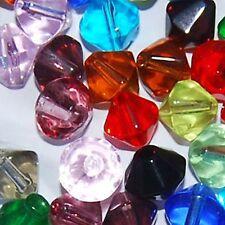 200 X mixto vidrio cristal bicono cuentas / k2619 - 6 Mm