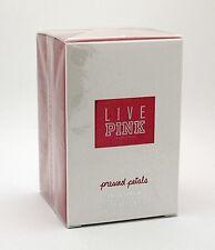 Victoria's Secret Live Pink Pressed Petals 3.4 oz Eau de Parfum NIB