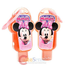 Disney Minnie Mouse Hand Sanitizer with Backpack Clip - 2pc Set