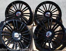 """17 """"Nero SAVAGE RUOTE IN LEGA adatta BMW MINI R50 R52 R55 R56 R57 R58 R59"""