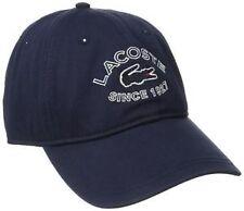 Lacoste Men's 100% Cotton Baseball Caps