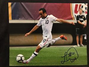 LANDON DONOVAN Autographed Signed 11x14 Photo USMNT TEAM USA