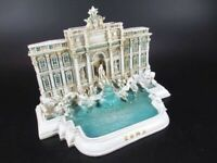 Trevi Brunnen Rom Fontana di Trevi Roma Italien Souvenir 18,5 cm Modell NEU !