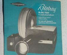 Sawyers Rototray 100 Slide Tray For 2x2 Slides For Sawyer's Projectors Brand NEW