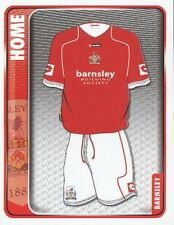 004 HOME KIT ENGLAND BARNSLEY.FC STICKER FL CHAMPIONSHIP 2010 PANINI