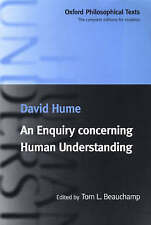 An Enquiry Concerning Human Understanding (Oxford Philosophi by David Hume - PB