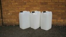 4x Jerry Can 25l Water Containers food grade White,Clear water/oil storage