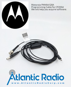 New OEM Authentic Motorola PMKN4128A Programming Cable with Software Link