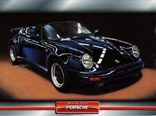 Porsche Carrera Speedster 3,2 1989 Dream Cars Prospekt Poster Atlas Verlag Auto