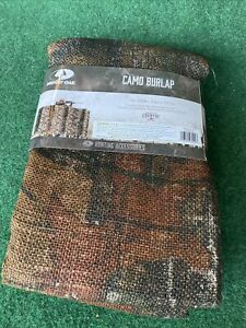 Mossy Oak Camo Burlap Camouflage Blind by Break-Up Country 12ft x 54in
