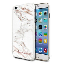 Personalised Marble Phone Case Cover For Apple Samsung Initial Name - Ref C04