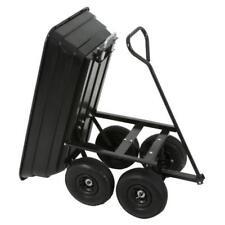 Garden Trolley accompagna benne Skip, Chariot de transport avec Benne Remorque, charge max. 2