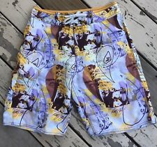 QUIKSILVER SURF • Men's Signature KELLY SLATER Surfing Board Shorts waist 30
