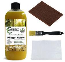 Pflegeöl SET Holzöl Holz Wachs Tisch- Möbelöl zum nachölen auffrischen pflegen