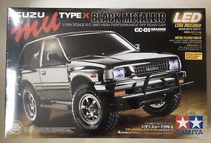 Tamiya 47383 Isuzu Mu Type X Black Metallic CC-01 CC01 New Sealed