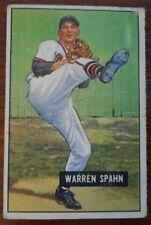 1951 WARREN SPAHN #134 VG