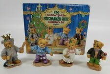 New Cherished Teddies Nutcracker Suite 272388 Collector's Set Limited Edition