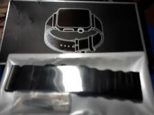 Bracelet Strap for Smart Watch - Magnetic Strap - Black Mesh