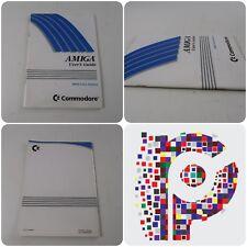 Guía del usuario del Amiga 1084S Monitor de color Commodore Libro Manual